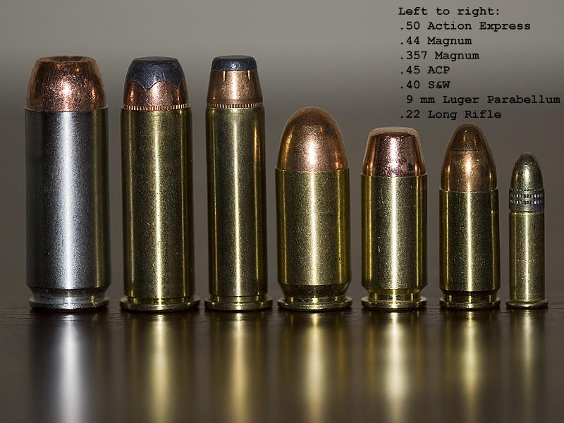 44 Magnum vs 50 Cal